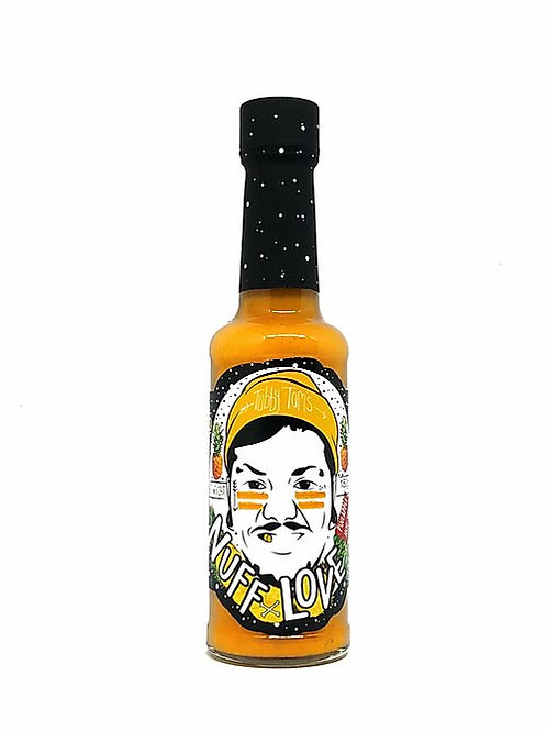 'Nuff Love Tropical Hot Pepper Sauce - 150g