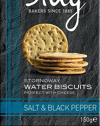 Stag - Salt & Black Pepper Water Biscuit
