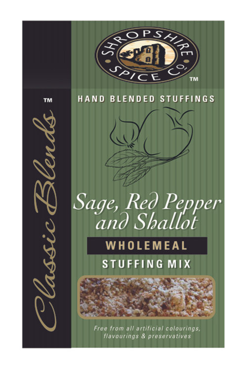 Sage, Red Pepper & Shallot Wholemeal Stuffing Mix
