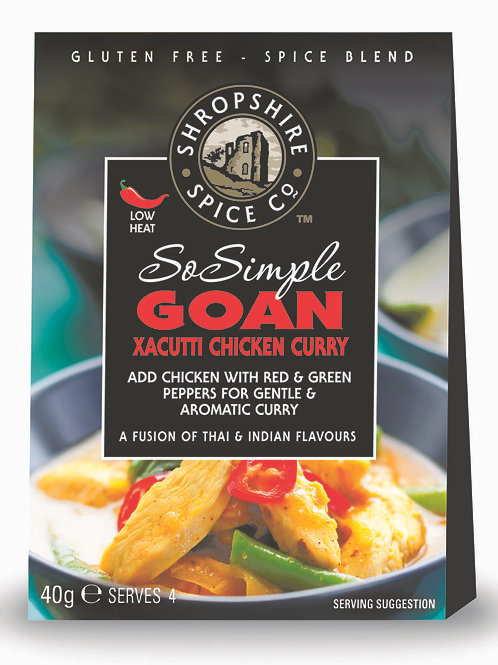 Goan Xacutti Chicken Curry Spice Blend