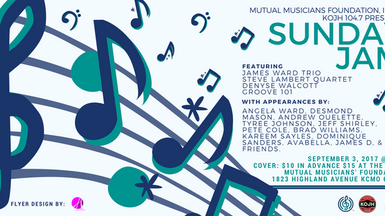 The Sunday Jam (KOJH 104.7 FUNDRAISER) | SEPT 3RD | 5PM-9PM #EVENTS