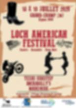 Affiche Loch America Festival