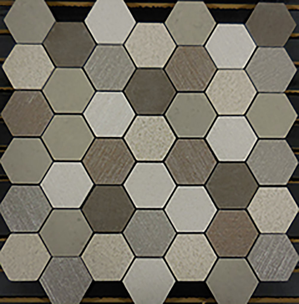 PORCELAIN-MOSAIC-EARTH-HEXAGON-PATTERN-#