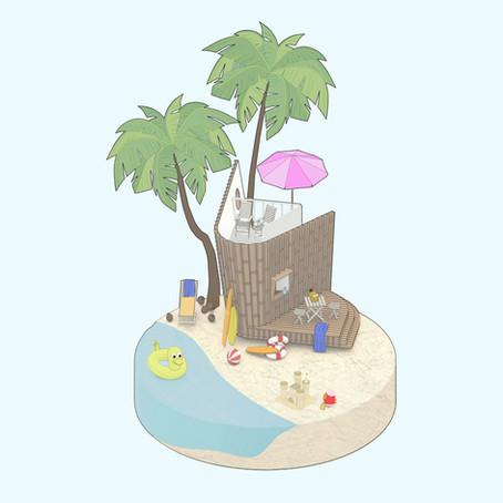 Hanalei Beach Hut