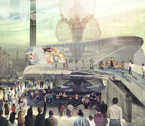 London Olympics Kiosk
