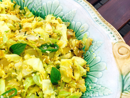 Cabbage & Coconut Delight