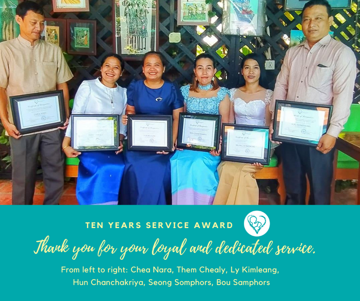 Celebrating long-serving staff