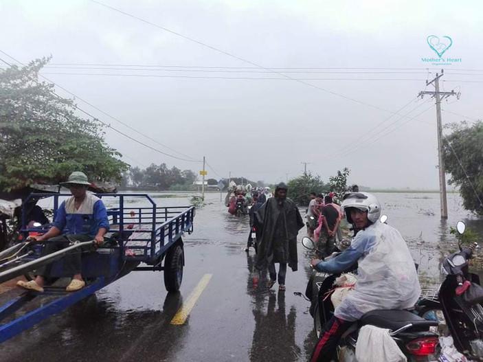 Flooding in Battambang province