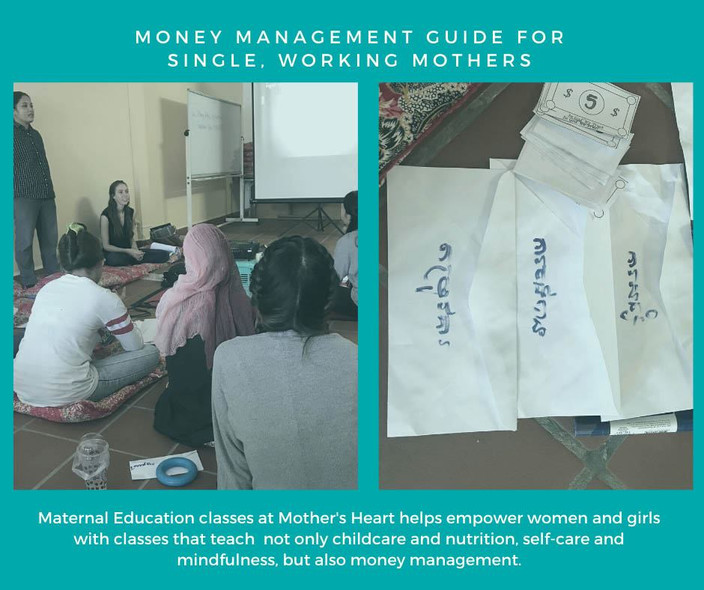 Money management for single, working mothers