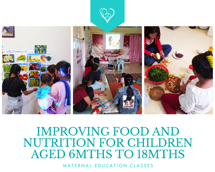 Improving young mothers' knowledge on food and nutrition