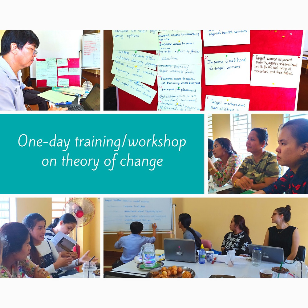 Mother's Heart's Workshop on Theory of Change