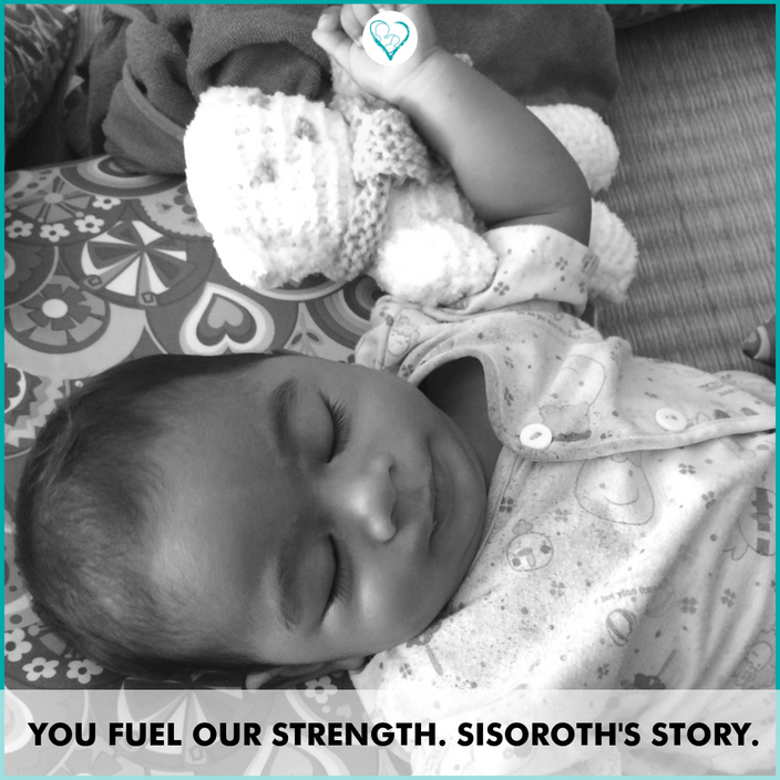 You fuel our strength. Sisoroth's story.
