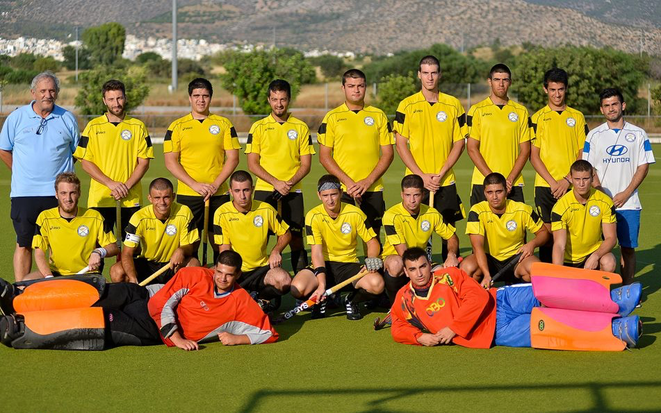 National Team Eurohockey Championship IV, Greece 2013