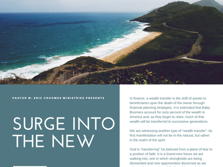 SURGE into the New: Stand Up Reach God's Excellence