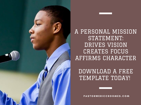 I Want to Help One Million Tweens and Teens Write a Personal Mission Statement