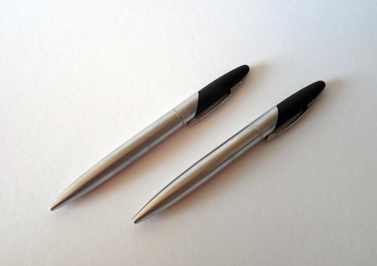 Canva - Two Silver Click Pens