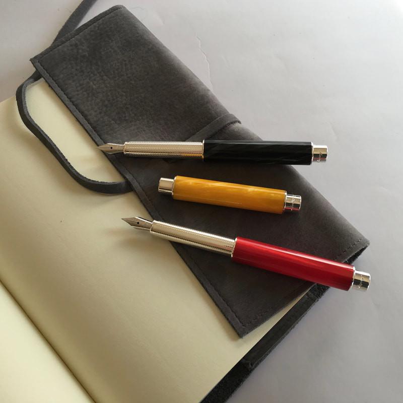 montegrappa stylo-plumes Gnomo argent ma