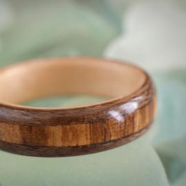 Maple core, Walnut and Zebrawood stripe