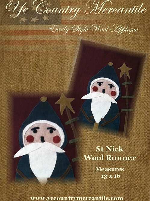 St. Nick Wool Pattern