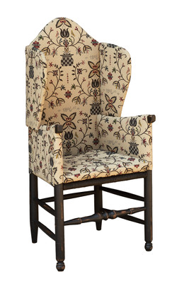 Make-Do Wing Chair_Stanard Turn Legs_IMG_6683