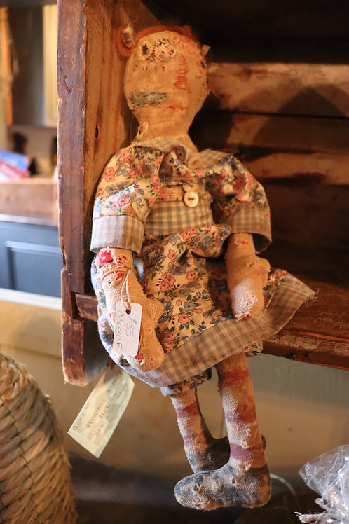 Very Raggedy Ann Doll by Mustard Seed Primitives