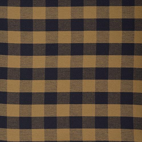 #1004 Tavern Check Ecru-Navy per yard Grade A Fabric