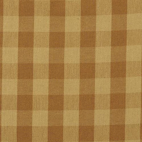#1002 Tavern Check Ecru-Mustard per yard Grade A Fabric