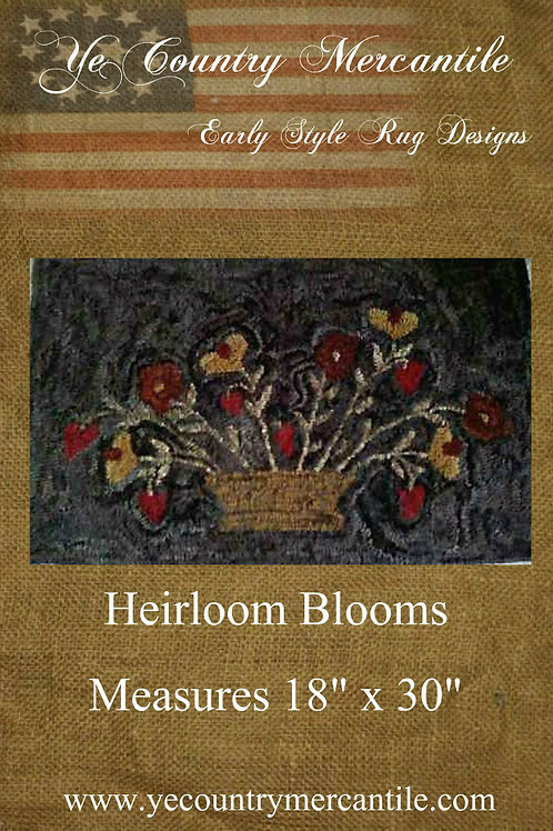 Heirloom Blooms on Linen