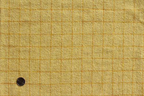 1/2 Yard Mill Dyed Wool Lemon Zest