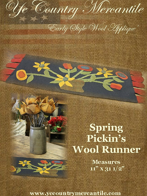 Spring Pickin's Wool Pattern