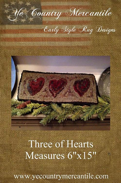 Hearts on Linen