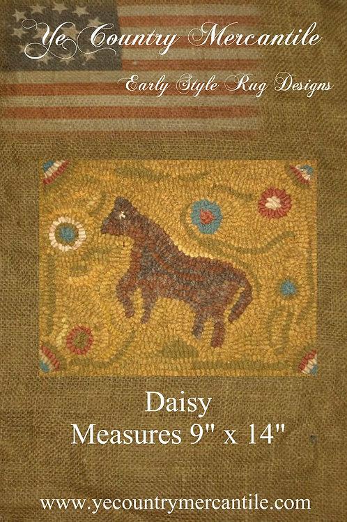 Daisy on Linen