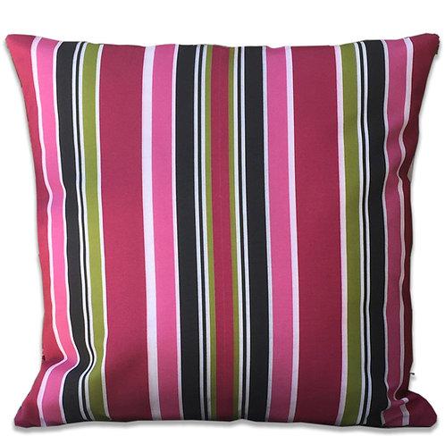 """Tui Blossom Stripe"" Outdoor Cushion"