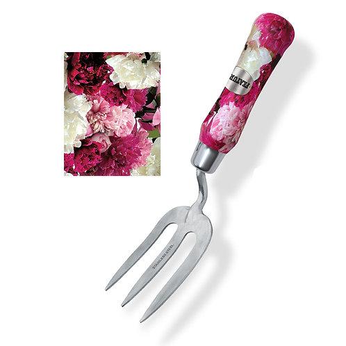 """""""Serena"""" fork peonies print"""