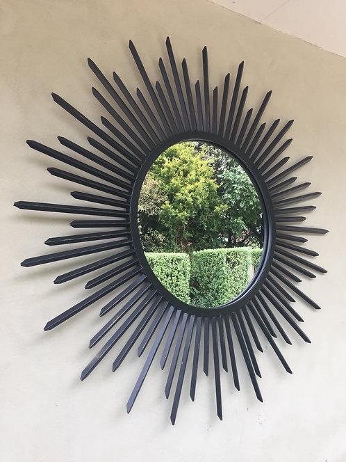 Starburst Outdoor Garden Mirror