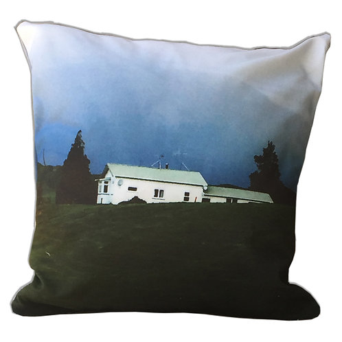 """House on the Hill"" Outdoor Cushion"