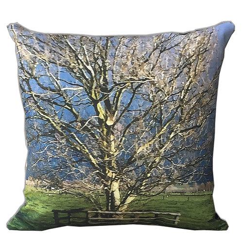 """One Tree"" Outdoor Cushion"