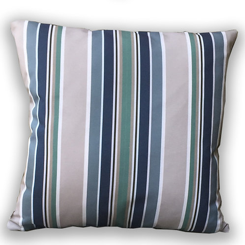 """Nautical Stripe"" Outdoor Cushion"