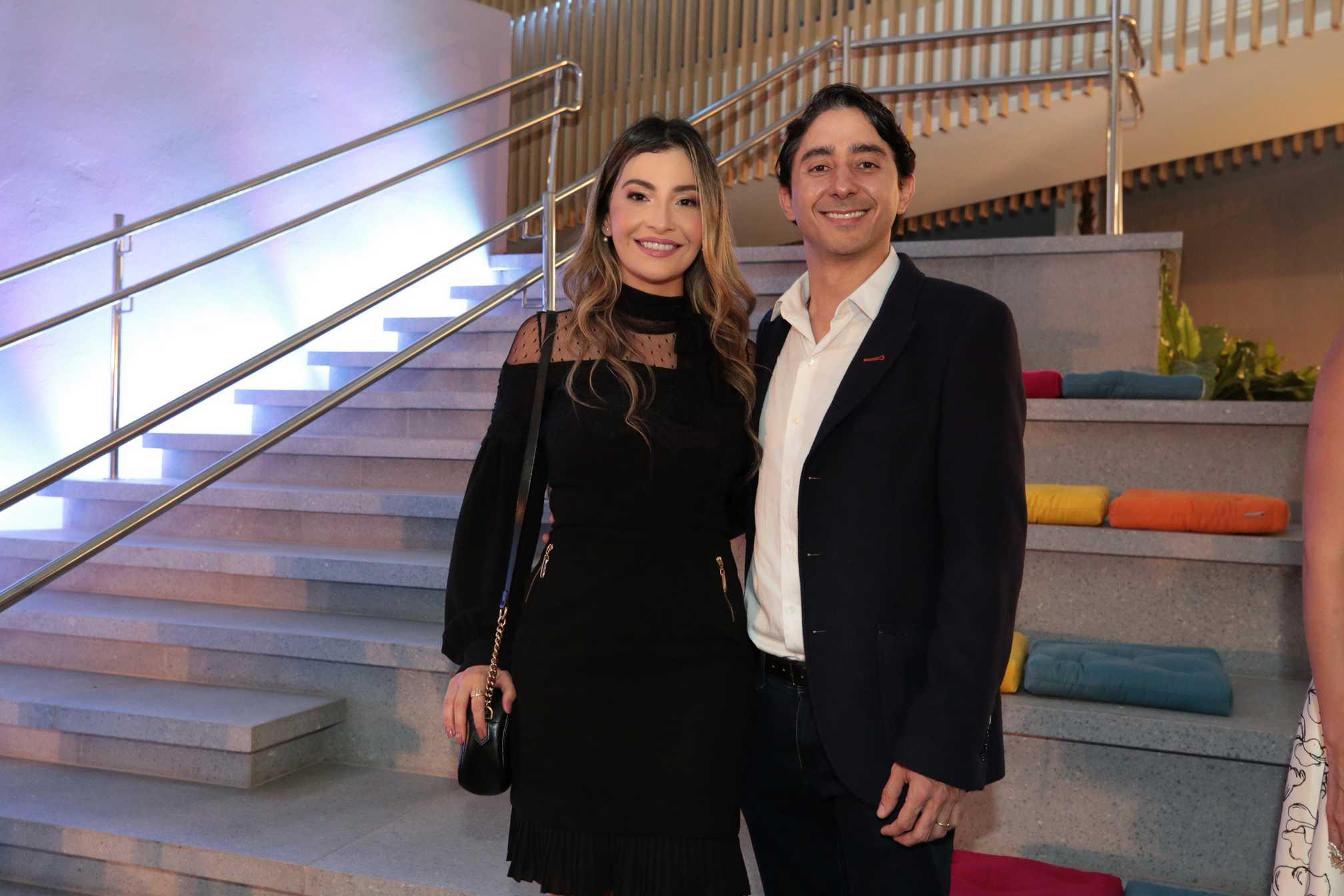 Érica e Evandro Rodrigues Costa, um dos Diretores do Dom Bosco Exponencial.