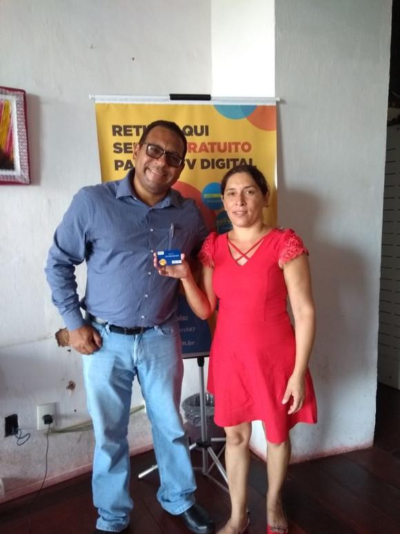 Moradora de Alcântara ganha prêmio da Seja Digital