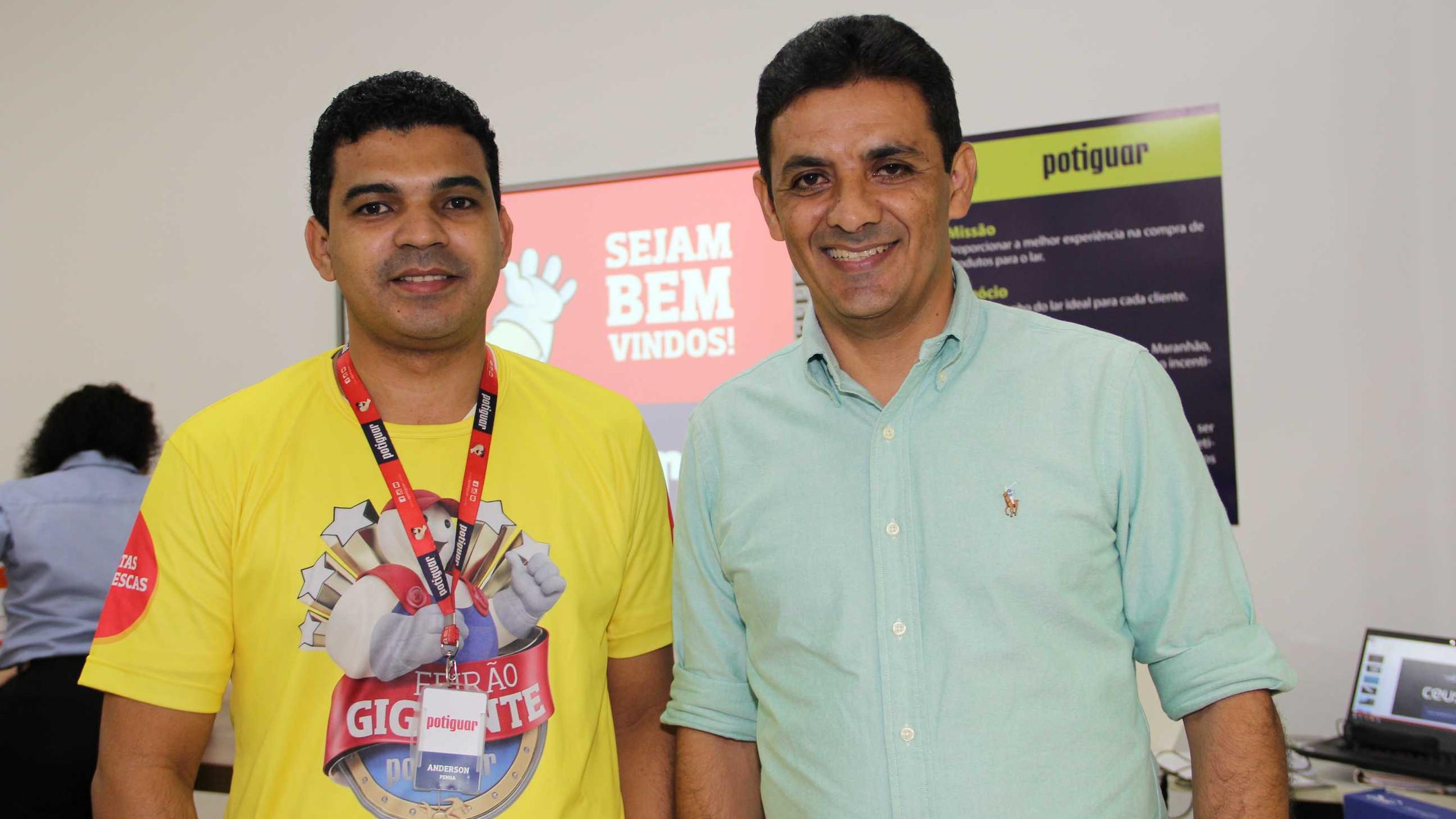 Anderson Penha (Potiguar) e Eduardo Lemos (Ceusa).
