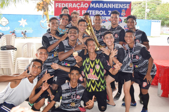 Corinthians Bequimão é campeão maranhense Sub-17 de Futebol 7