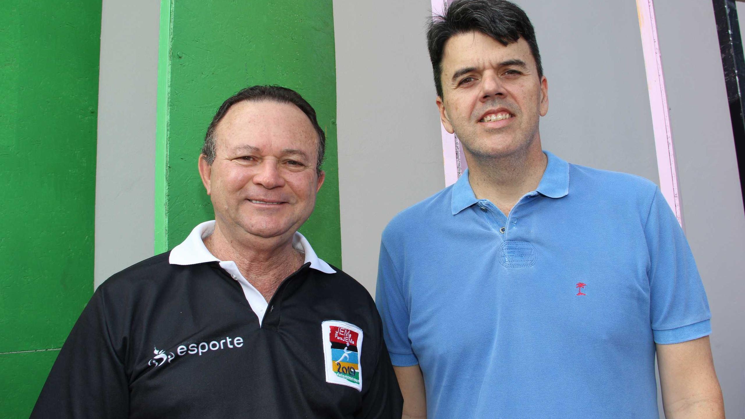 O Vice – Governador Carlos Brandão e Ted Lago, Pres. da EMAP.