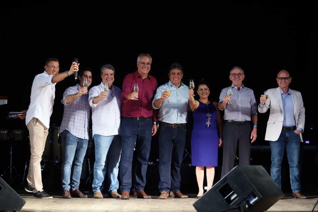 Diretoria da Equatorial Maranhão brinda o ano de 2019.