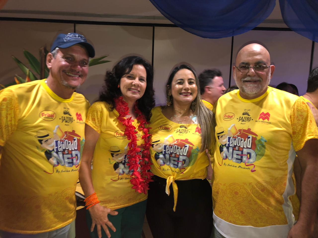 Fernanda Torres e Silas Diniz da Equatorial Energia MA.