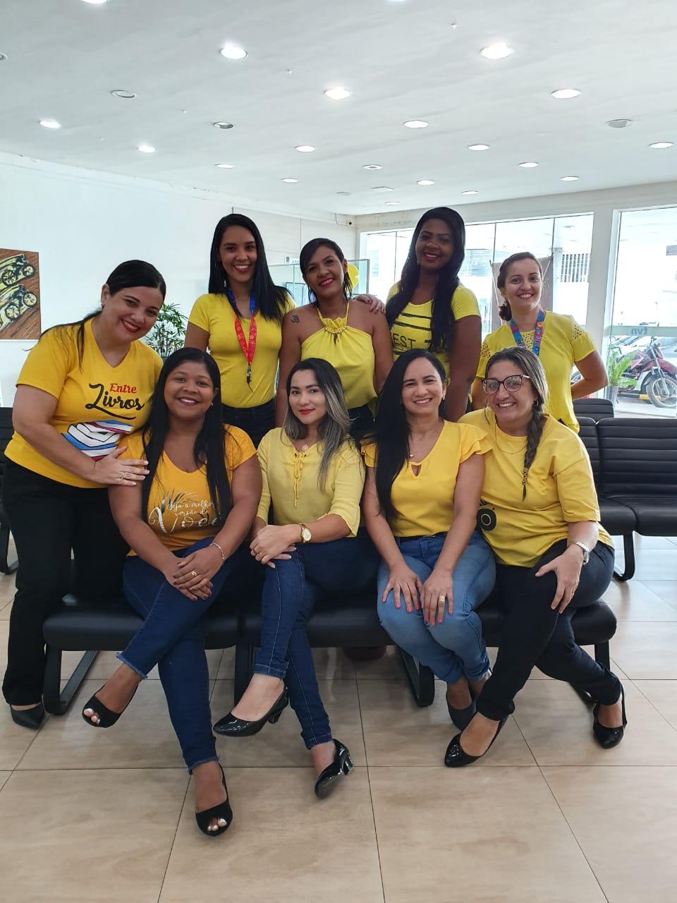"""Equipe TVN no evento """"Setembro Amarelo""""."""
