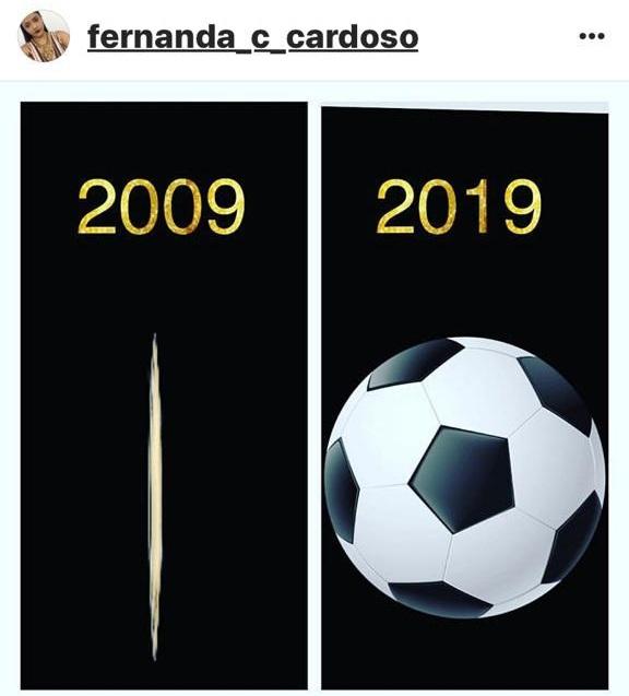A administradora maranhense, Fernanda Cardoso, fez sátira com a brincadeira no perfil do Instagram.