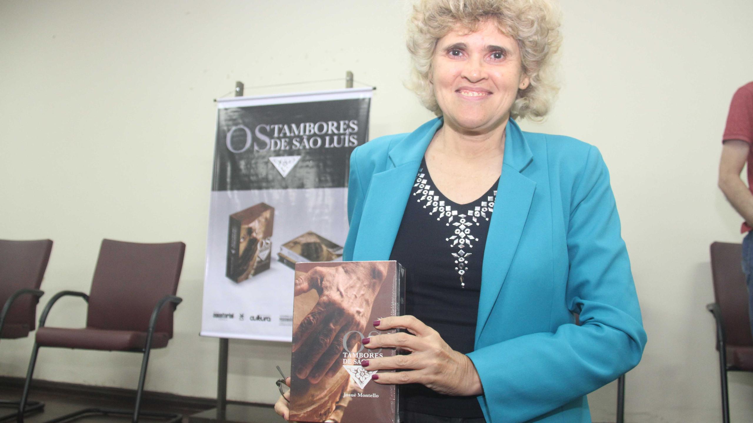 A promotora de justiça, escritora e membro do Instituto Histórico e Geográfico do Maranhão, Ana Luiza Ferro.
