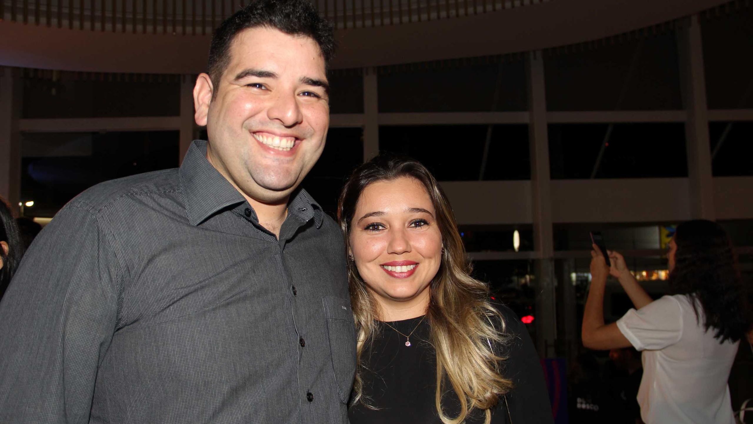 Sérgio Diaz e Marina.