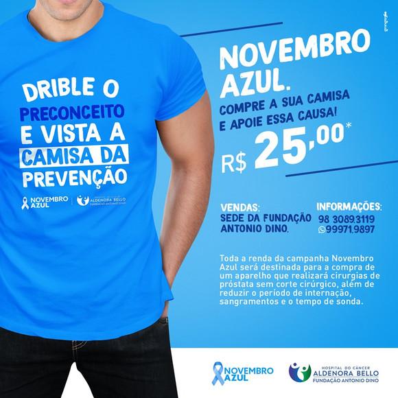 Hospital do Câncer Aldenora Bello em campanha preventiva pelo Novembro Azul